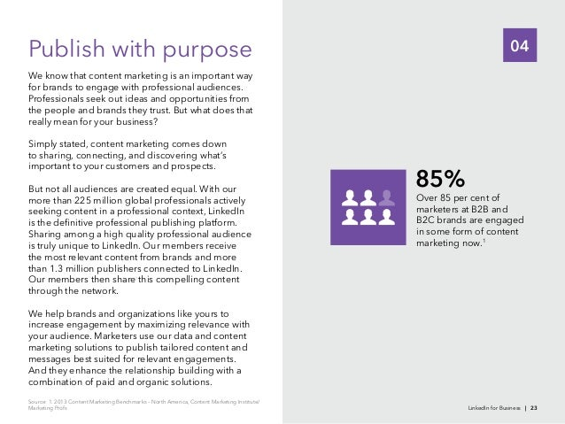 04We know that content marketing is an important wayfor brands to engage with professional audiences.the people and brands...