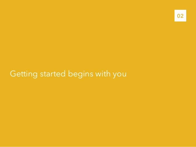Getting started begins with you02