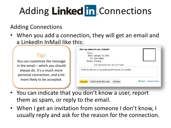 adding linkedin connections adding connections