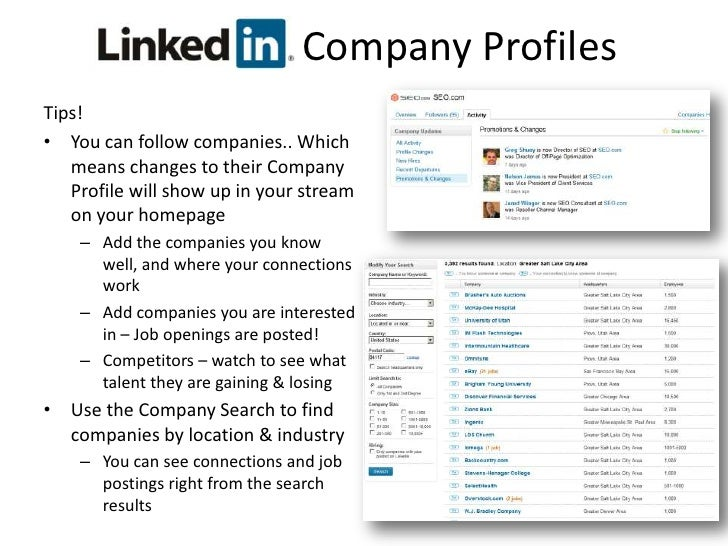 LinkedIn    Groups<br />Finding Groups to Join<br />The official group of your current or past companies.<br />Your connec...