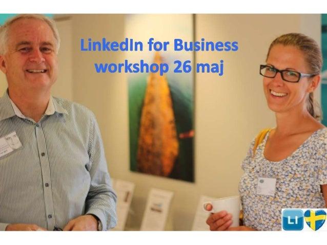 21 enkla steg att optimera din profil så att den attraherar affärer och kontakter genom att bli synlig och sökbar © Linked...