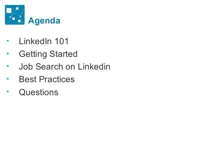 Linkedin for career and job search Slide 2