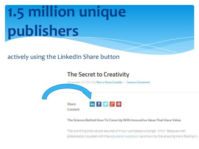 Conversion Rates  LinkedIn = almost 3 x more visitor-to-lead  conversion rate than both Twitter and  Facebook (study done ...
