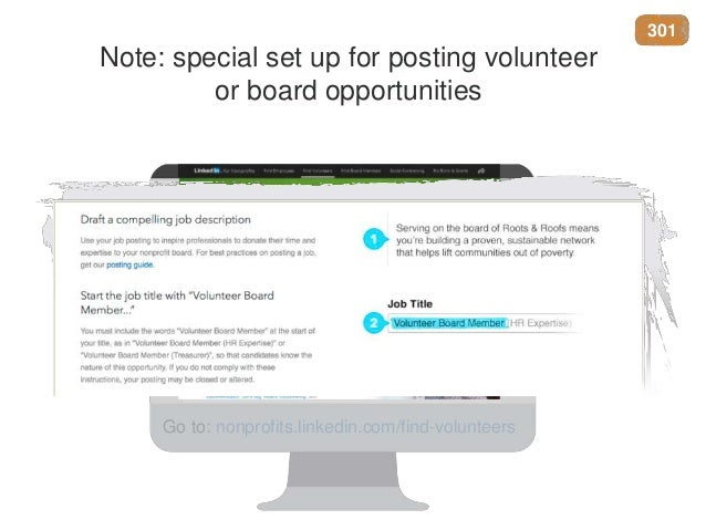 How Nonprofits Can Benefit from LinkedIn - Recruiting