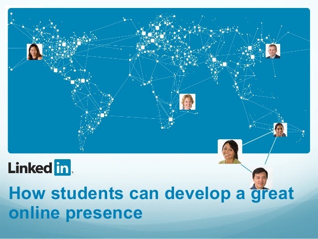 How students can develop a greatonline presence