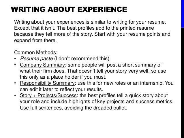 where do you put internships on a resume