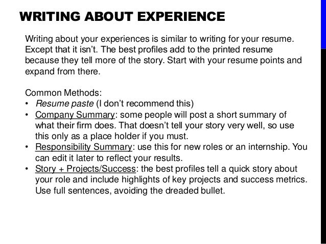 WRITING ...  How To Make A Resume For A College Student
