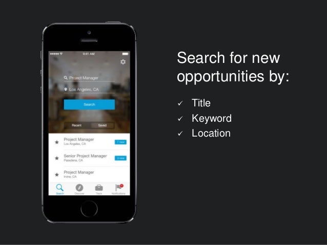  Title  Keyword  Location Search for new opportunities by:
