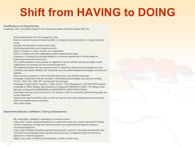 shift from having to doing 17 talent acquisition manager job description