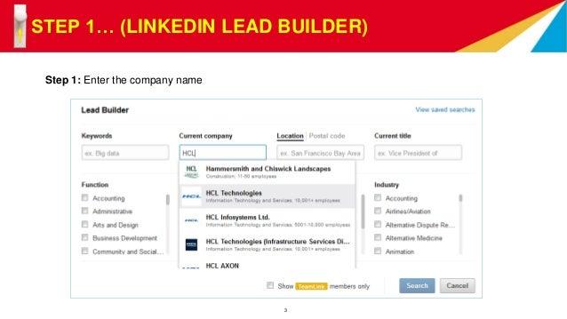 linkedin builder