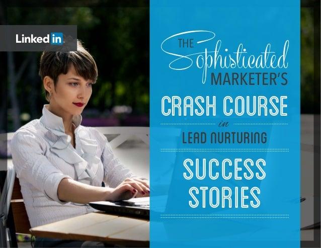 SUCCESS STORIES CRASHCOURSE LEADNUrTURING in
