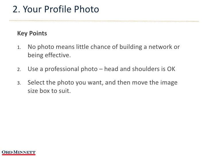 how to write an executive linkedin profile