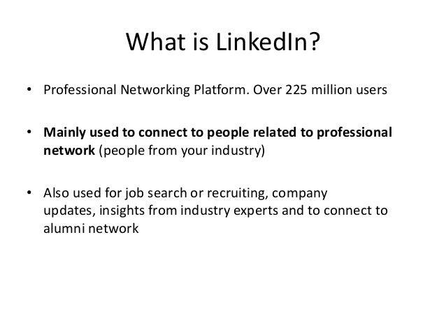 LinkedIn Marketing Basics Slide 2