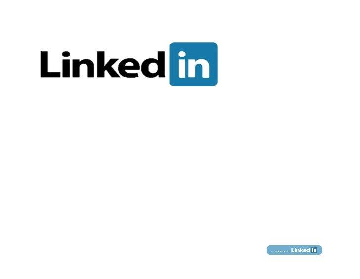 Using LinkedIn ToMaximize Your Career              Lorraine Goodman