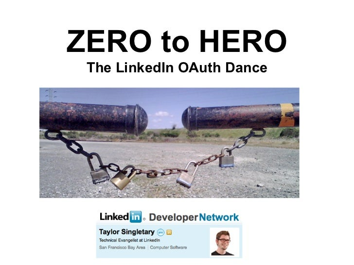 ZERO to HERO  The LinkedIn OAuth Dance