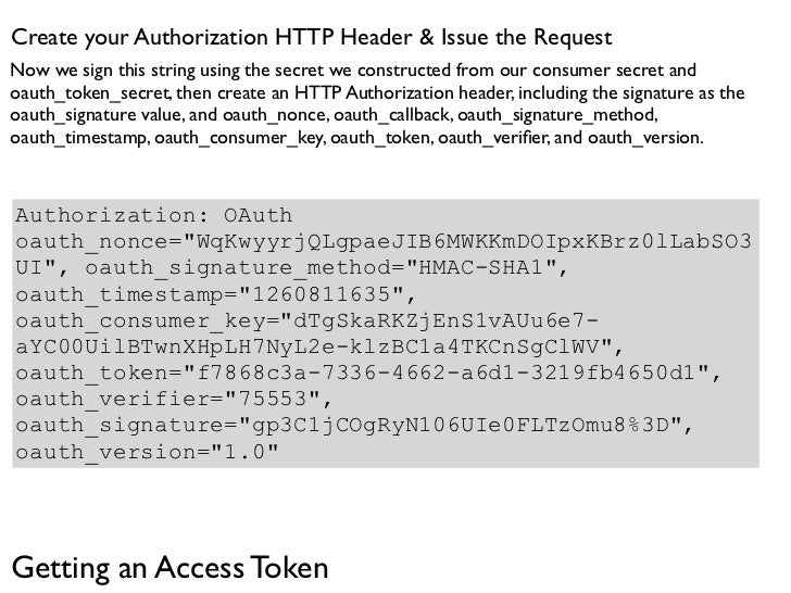 Evaluate the accessToken response  Now we issue this request to the accessToken endpoint, and if all is successful, you'll...