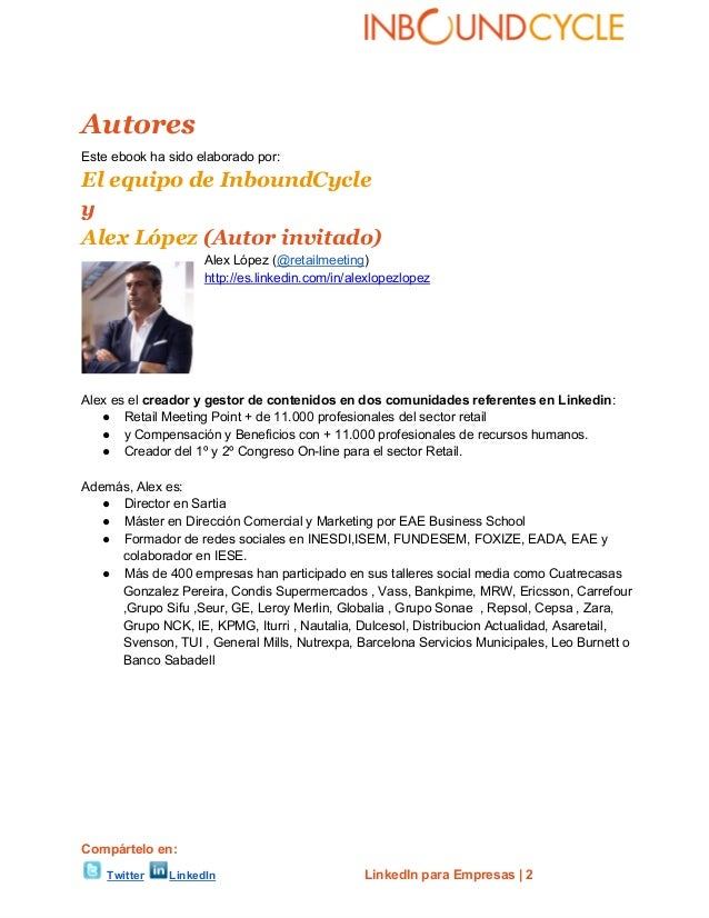 Linkedin para empresas Slide 2