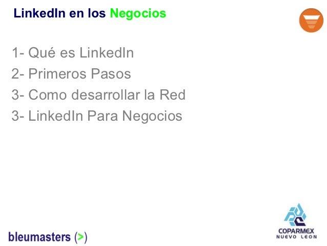 Linkedin para Negocios Slide 3