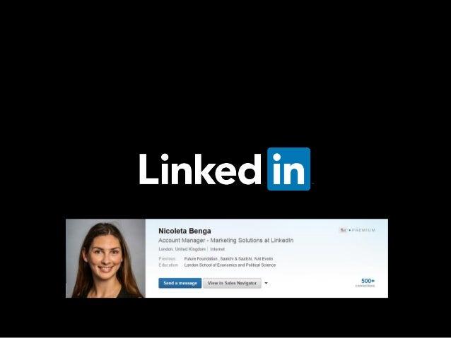 Agenda Misiunea LinkedIn Networking pentru ONG-uri si profilul LinkedIn Marketing LinkedIn pentru ONG-uri