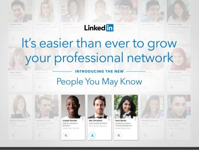 Introducing the New LinkedIn People You May Know