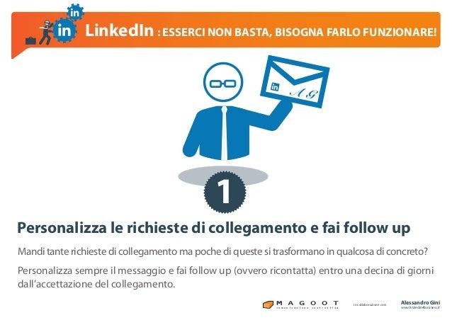 LinkedIn per il business, esserci non basta!!! Slide 2