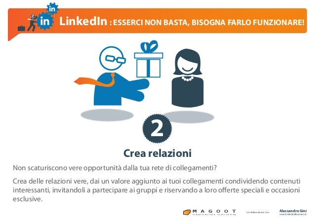 LinkedIn per il business, esserci non basta!!! Slide 3