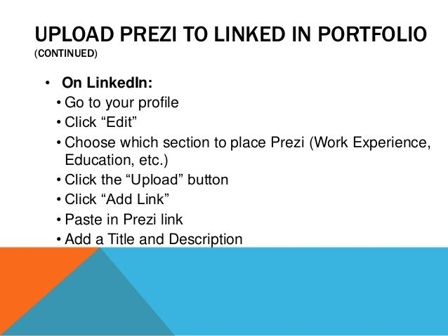 how to create a prezi account