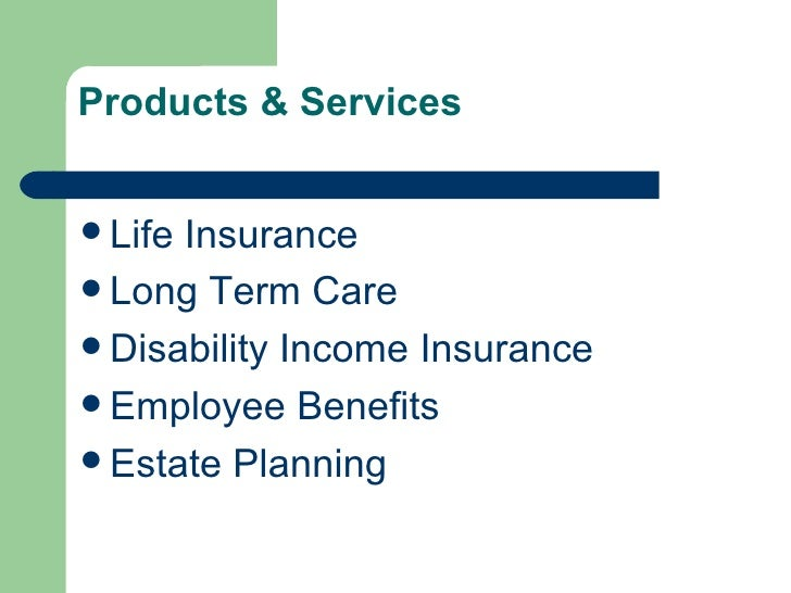 Products & Services Slide 2