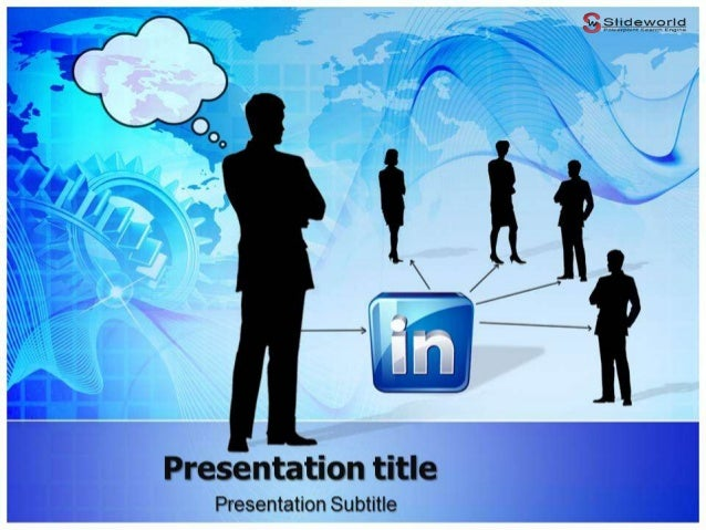 LinkedIn Powerpoint Template - Slideworld.com