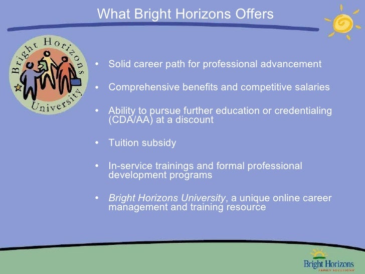 Bright Horizons Overview