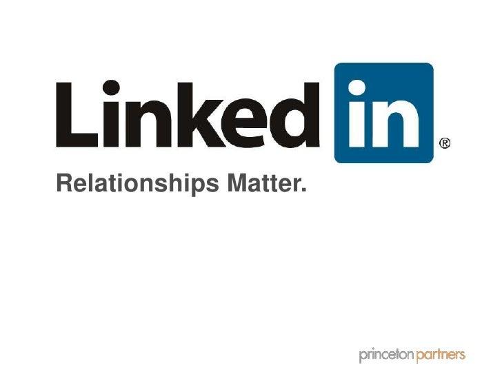 Relationships Matter.<br />