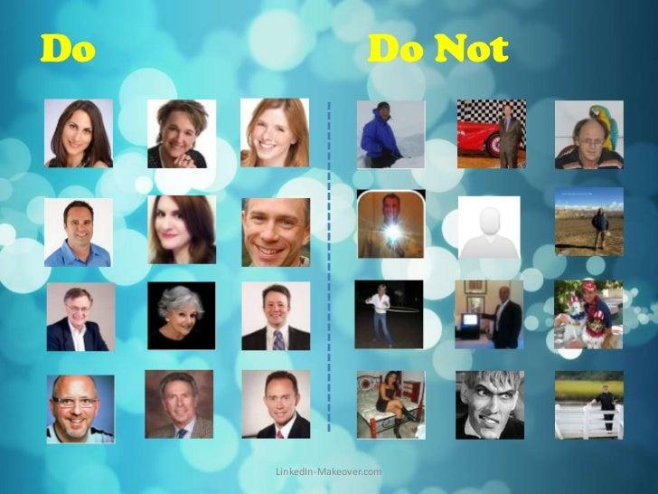 Do                     Do Not     LinkedIn-Makeover.com