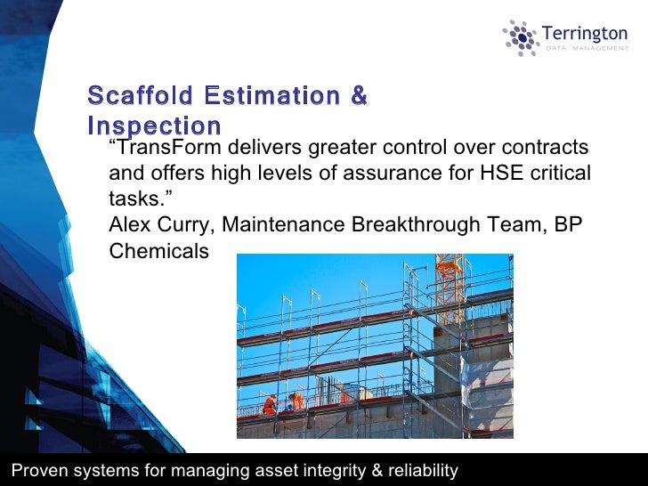 what is reliability and integrity on Pttes provides services on plant reliability assessment and improvement and asset integrity management the consultancy services include:-technical audit on plant reliability and integrity system which delivers short and long term recommendations with priorities.