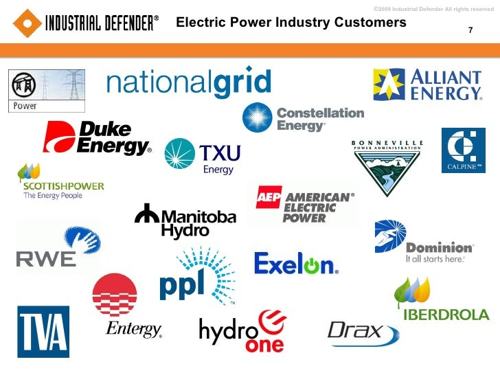Electric Power Industry Customers