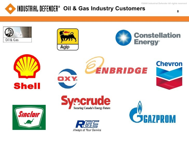 Oil & Gas Industry Customers