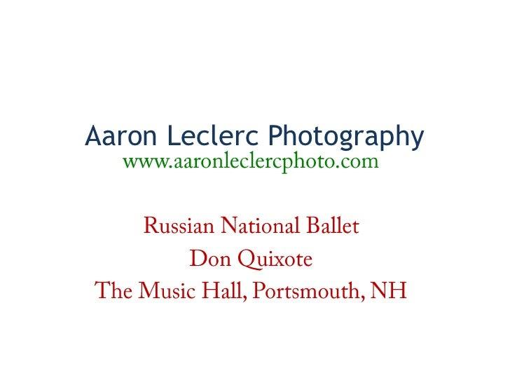 Aaron Leclerc Photography