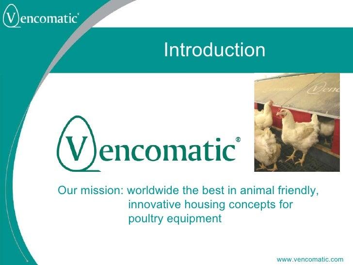 vencomatic company introduction