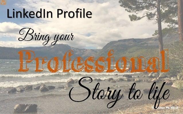 Shannon McNicol LinkedIn Profile