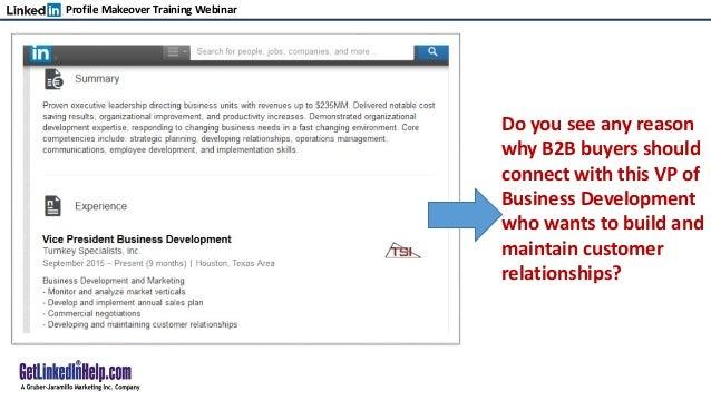 linkedin business plan pdf