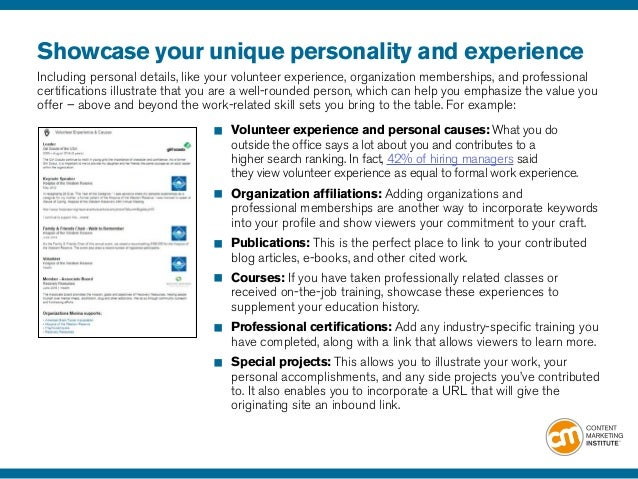 11 showcase your - How Linkedin May Help You Find A Job And Advance Your Career