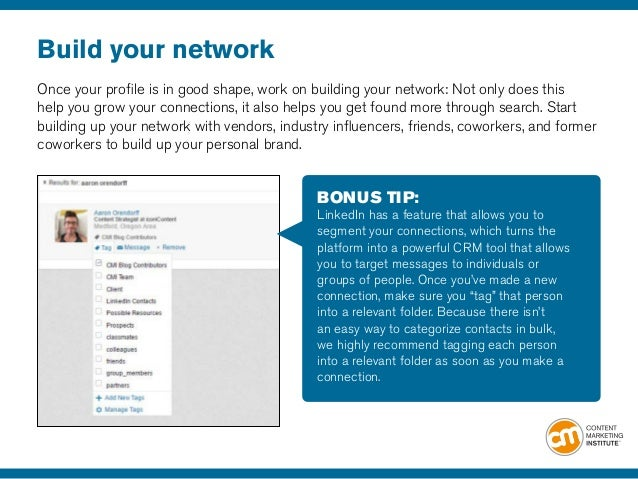 14 build your - How Linkedin May Help You Find A Job And Advance Your Career