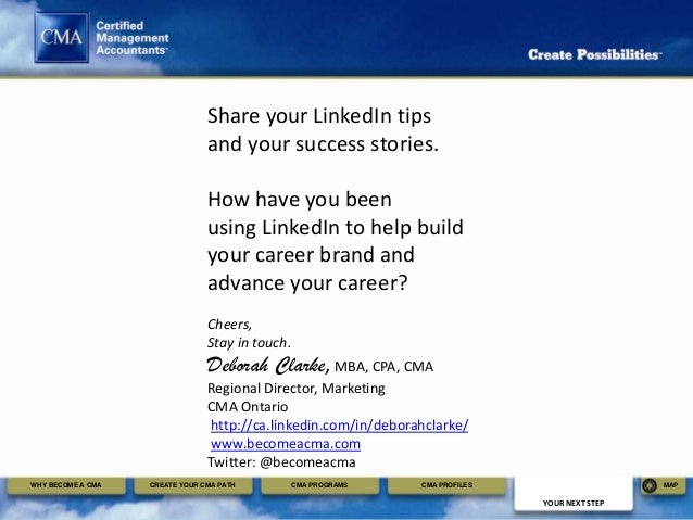 linkedin profile tips for university college students and