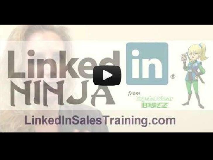 Linked in profile video slideshare