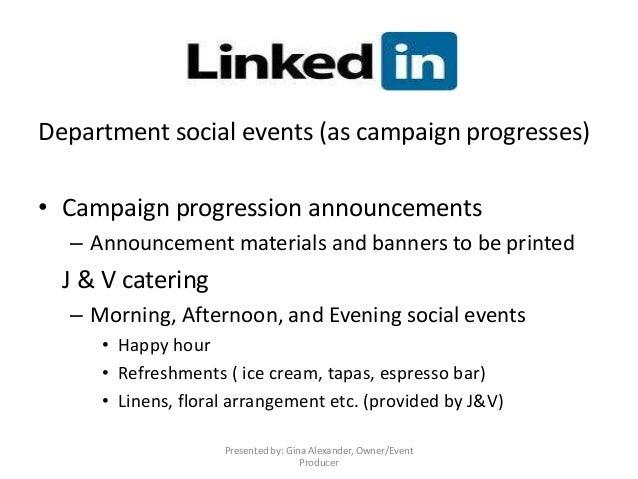 event announcement sample