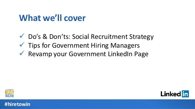 Build Your LinkedIn Recruiting Strategy for State & Local Government [Webcast] Slide 2