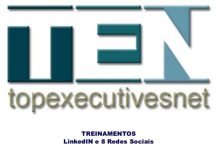 Cursos sobre LinkedIN e Redes Sociais