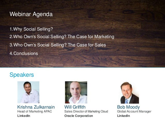 Who Owns Social Selling? Bridging the Divide Between Sales &Marketing Slide 2