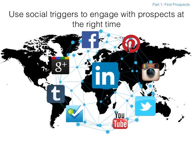 Use social triggers to engage with prospects at the right time Part 1: Find Prospects