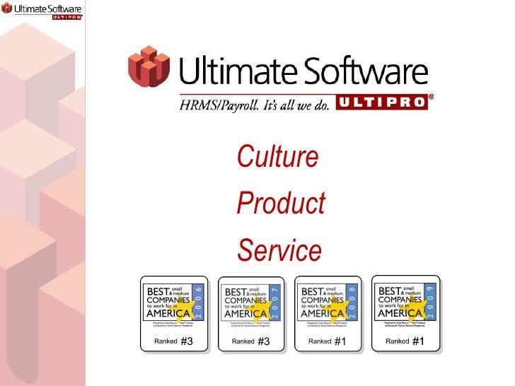 Culture Product Service