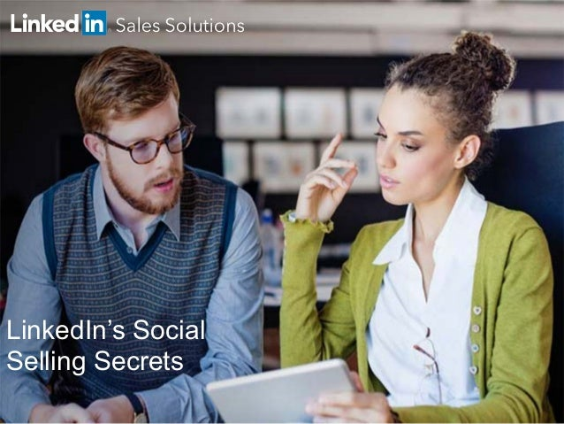 LinkedIn's Social Selling Secrets